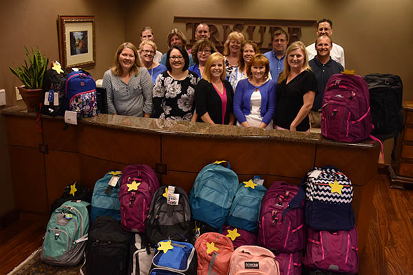 TriSure Employees Help Needy Kids